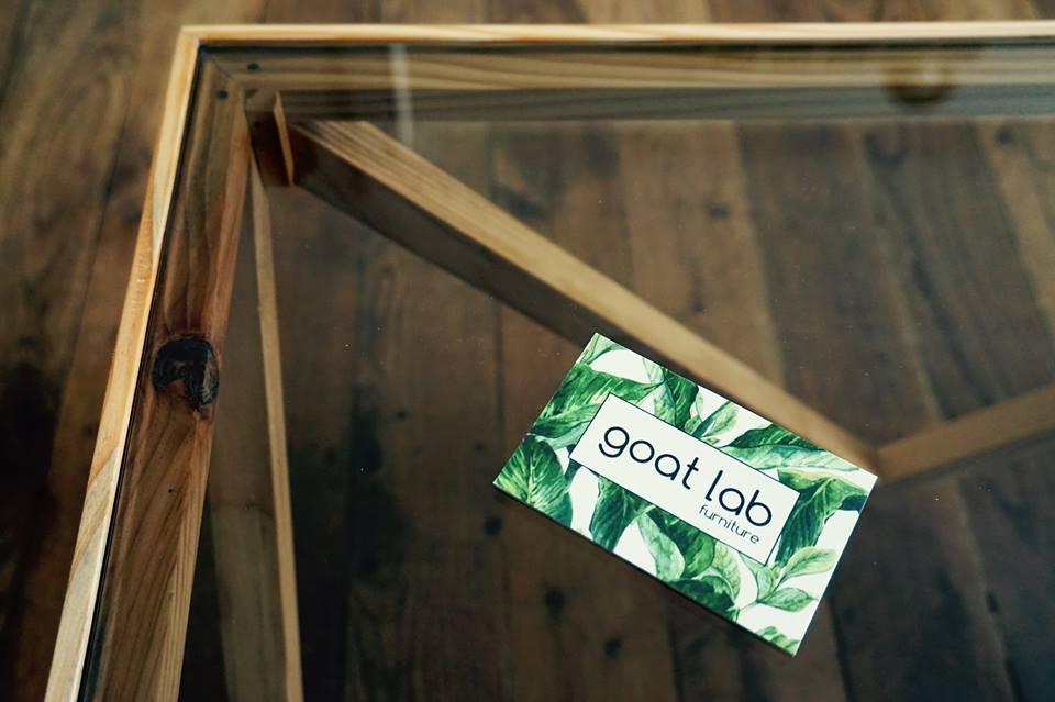 Symmetrical coffee table Goat Lab Furniture