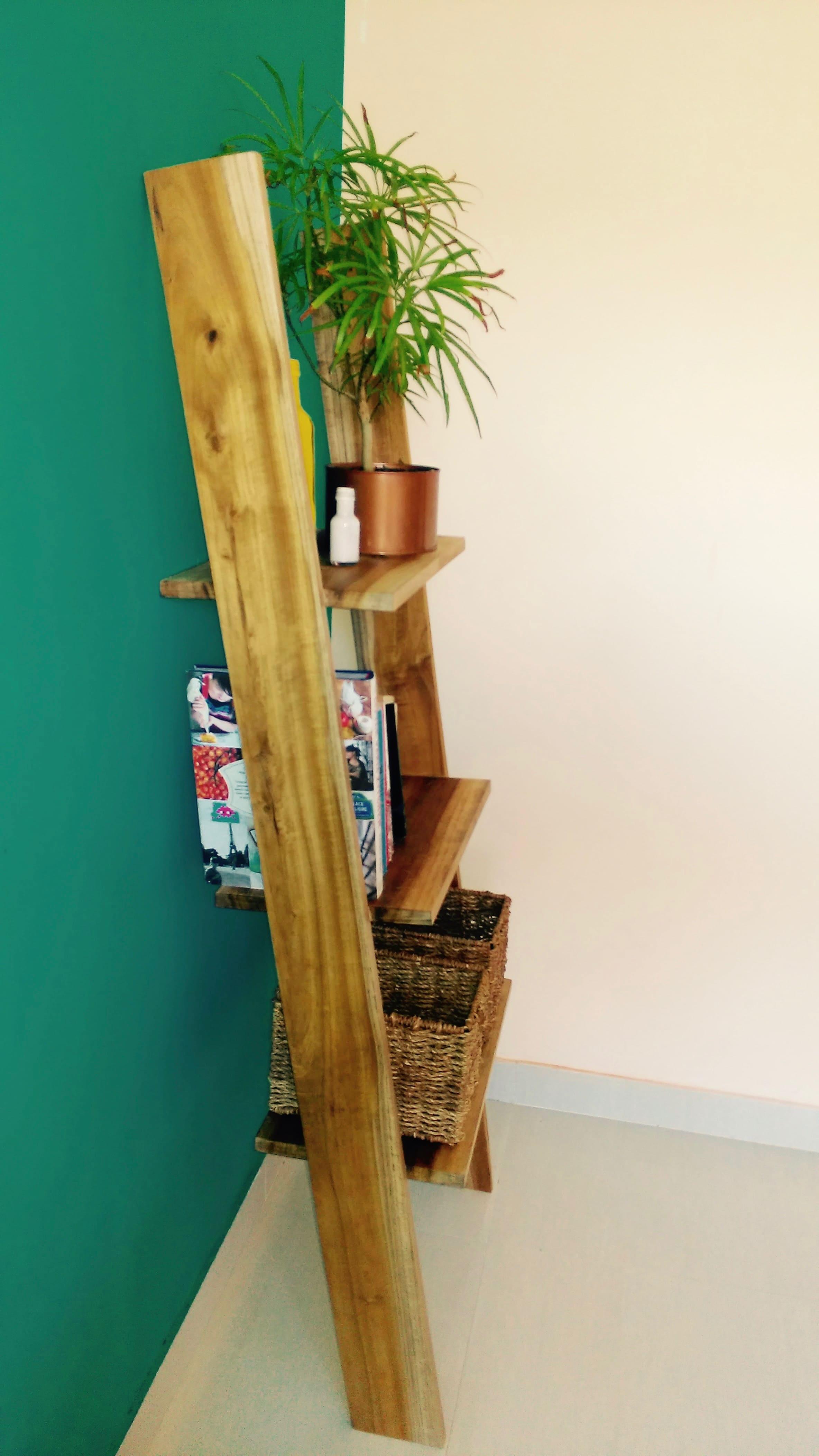 échelle bois