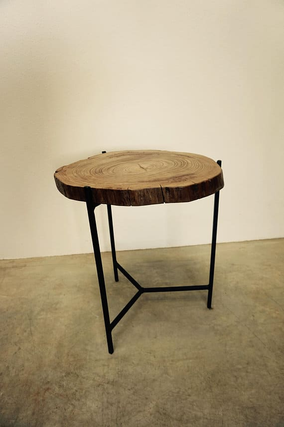 table d'appoint pierre