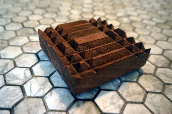 Mayan soap tray